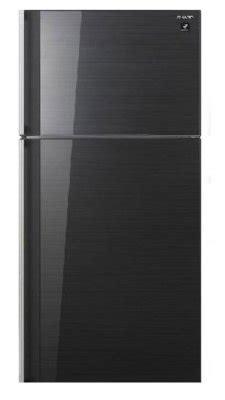 sharp sj gc53v bk3 two door 492l black refrigerator price