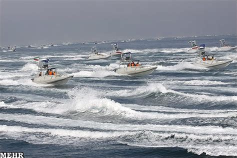 fast boats crashing 7 iranian boats came after u s patrol ship in the gulf
