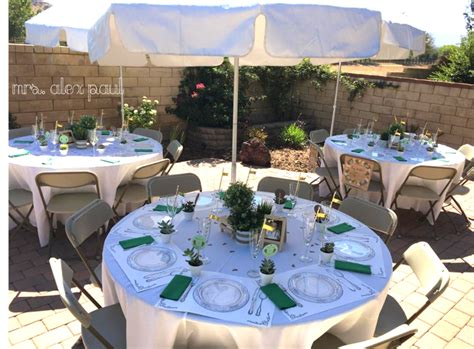 Baby Shower Setup Pictures by Mrs Alex Paul A California Guide To