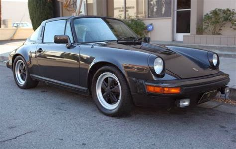 old porsche black 1980 porsche 911 targa black metallic buy classic volks