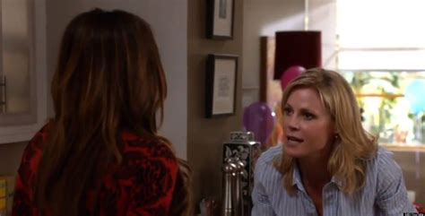 modern family gloria pregnant on modern family gloria tells others about pregnancy in
