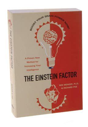 the einstein factor a proven new method for increasing your intelligence ebook the einstein factor a proven new method for increasing