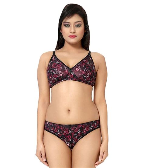 Bra Set With Amitie 7 Colors buy sherry multi color lycra bra sets at best prices in india snapdeal