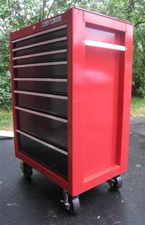 craftsman 8 drawer tool box craftsman 8 drawer bottom chest roll away tool box great