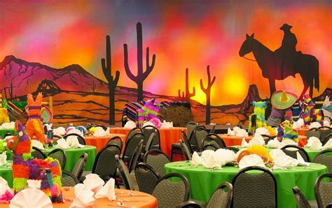 latin themed events mexican themed party with pi 241 ata centerpieces party