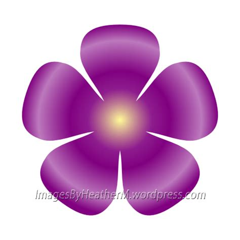 another 5 petal flower svg and dxf file images by