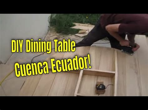 save diy furniture building rustic dining table