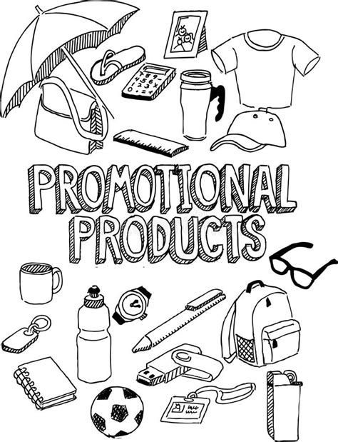 doodle do promo promotional products doodle stock vector image 32410700