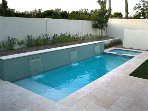 Swimming Pools In Small Spaces Alpentile Glass Tile Swimming Pool Design
