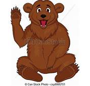 Vector Clip Art Of Brown Bear Cartoon