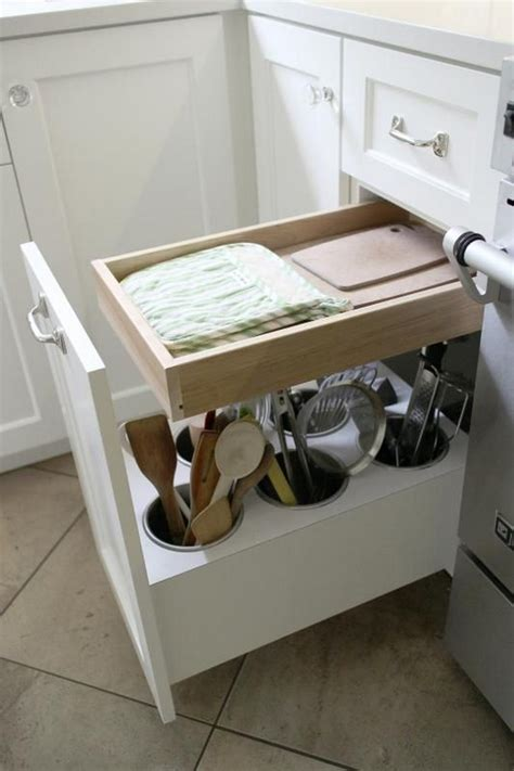 kitchen utensil storage ideas organize your kitchen utensils with this clever lazy susan