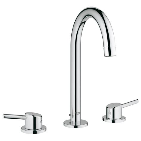 grohe concetto kitchen faucet grohe concetto 8 in widespread 2 handle high arc bathroom faucet in starlight chrome 2021700a