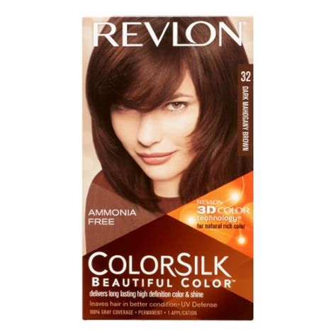 how to change from dark brown mahogany to blonde revlon colorsilk hair color dark mahogany brown jet com