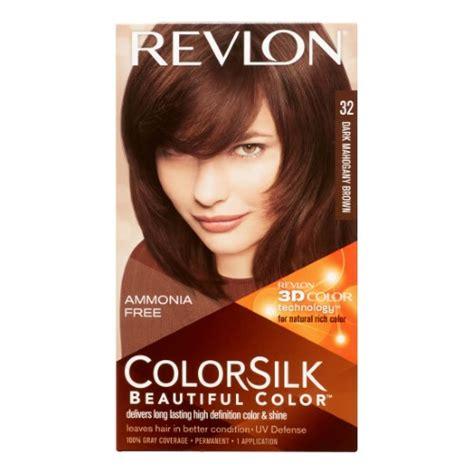 revlon mahogany hair color revlon colorsilk hair color mahogany brown jet