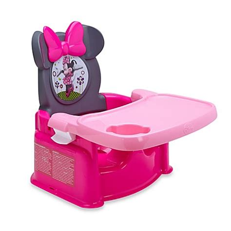 minnie mouse booster seat minnie mouse festival booster seat buybuy baby