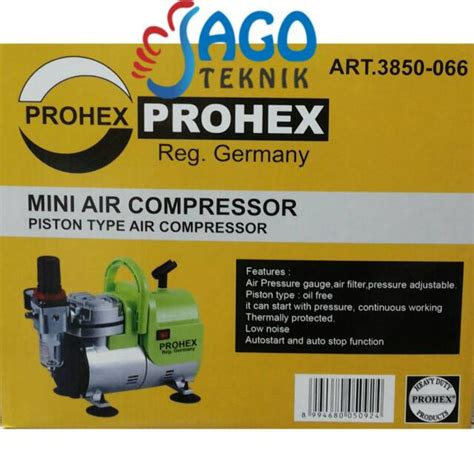 Kompresor Mini Air Brush Compressor Mini Prohex B17 N115 jual kompresor mini air brush mini air compressor prohex