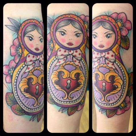 new matryoshka tattoo by physical graffiti
