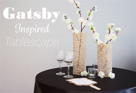 great gatsby universal themes the great gatsby inspired wedding cocktail tables