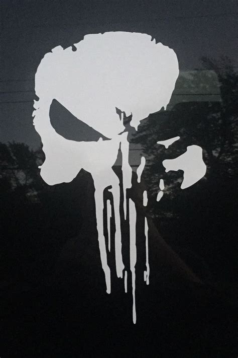 punisher skull tattoo a personal favorite from my etsy shop https www etsy