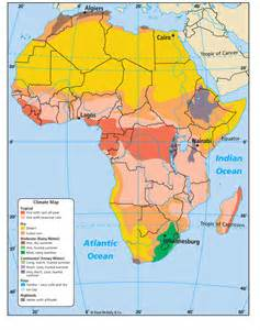 Climate Map Of Africa by Africa Climate Map Girls Wallpaper