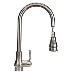 Kitchen Pull Faucet Reviews by Dyconn Faucet Coral Single Handle Pull Out Kitchen Faucet