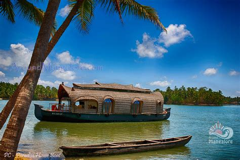 paradise house boat udupi around mangalore info - House Boat Udupi