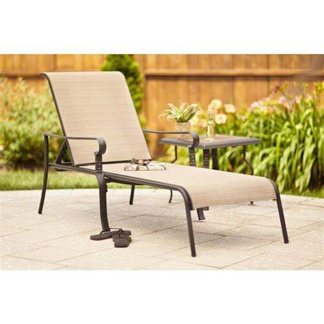 home depot chaise lounge chairs 179 no cushion neccessary hton bay belleville patio