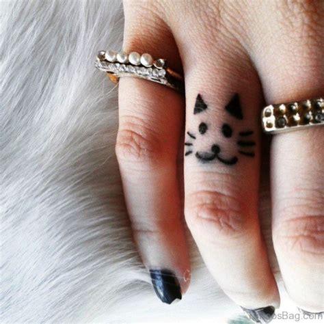 cat tattoo on finger 28 cute cat tattoos on finger