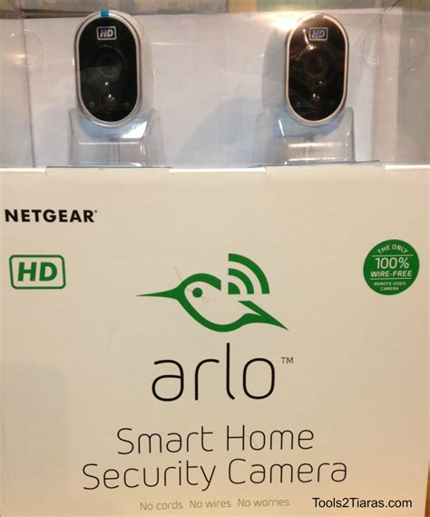 netgear arlo smart home security system tools 2 tiaras