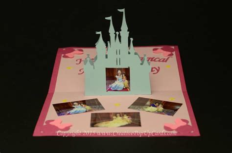 make a pop up card template castle pop up card template creative pop up cards