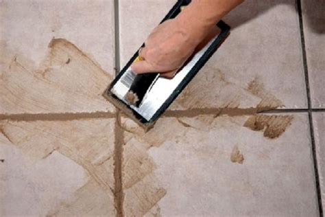 How To Grout A Floor by How To Repair Re Grouting Ceramic Tile How To Re Grout