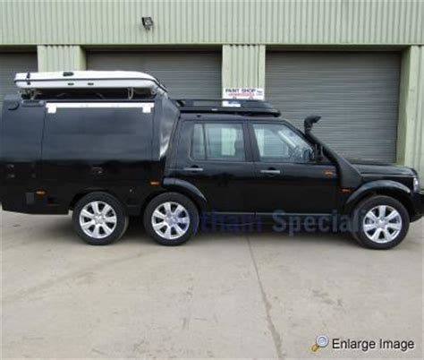 mod land rovers for sale event support trailer mod sales vehicles
