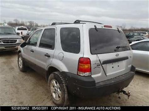 Spare Part Ford Escape ford escape spare tire carrier 2005