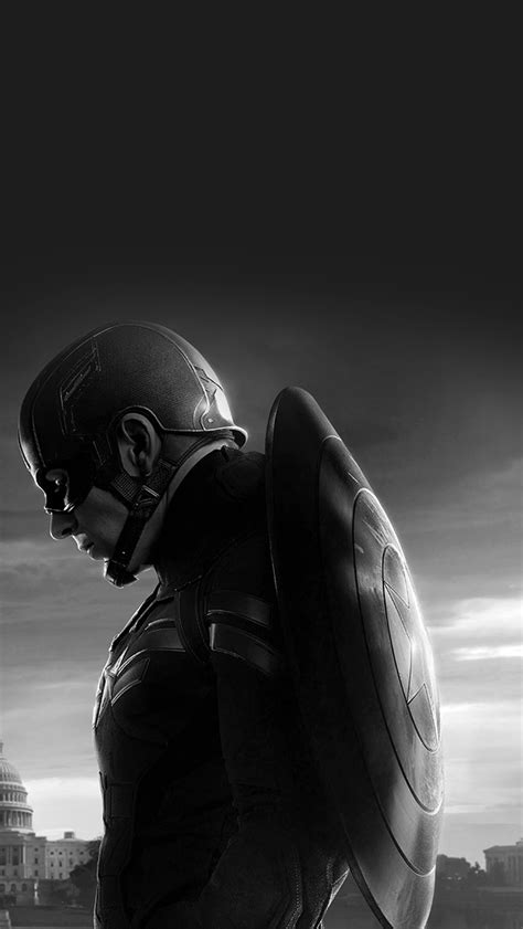 captain america note 4 wallpaper an85 captain america sad hero film marvel dark bw wallpaper