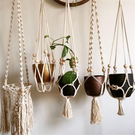 How To Make A Plant Hanger With Rope - 1000 images about macrame plant hangers on