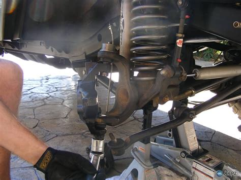 jeep steering jeep wrangler ball joint replacement