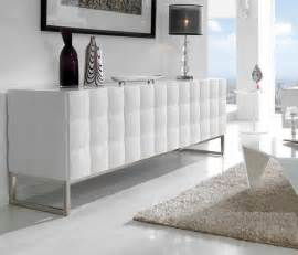 Meuble Bas Laque Blanc #1: buffet-design-2-portes-3-tiroirs-blanc-laque-noyer-waldo.jpg
