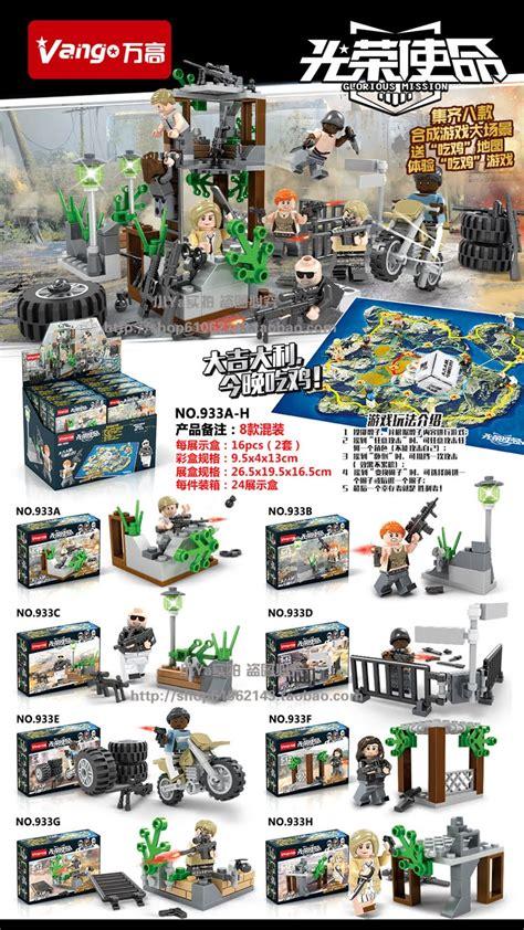 Lego China 2017 Pogo X Terbaru Murah downtheblocks vango 933 pubg inspired minifigs with mini builds preview