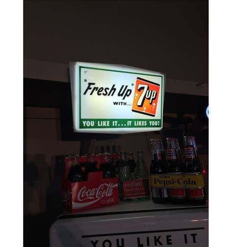 vintage light up signs vintage 7 up light up display sign able auctions