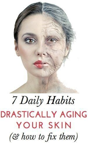 7 Bad Habits That Affect Your Skin by 7 Daily Habits That Are Aging Your Skin While Researchers