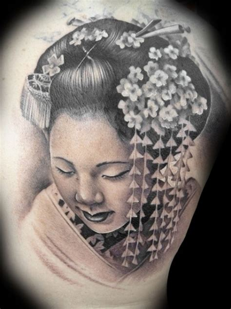 imagenes de tatuajes de geishas tattoo of japanese geisha tattoos book 65 000 tattoos
