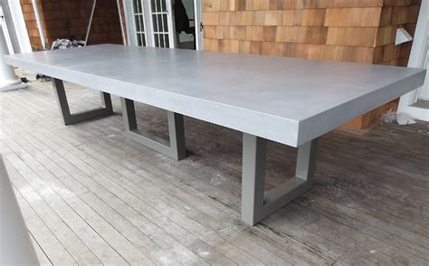 Custom Concrete Kitchen & Dining Tables   Trueform