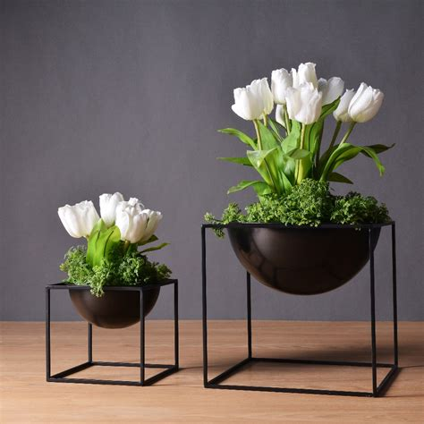 Square Flower Vases by Cube Flower Vases Reviews Shopping Cube Flower