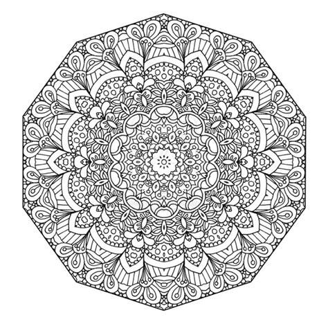 Vorlage Mandala by 50 Mandala Vorlagen Stress Abbauen Diy Zenideen