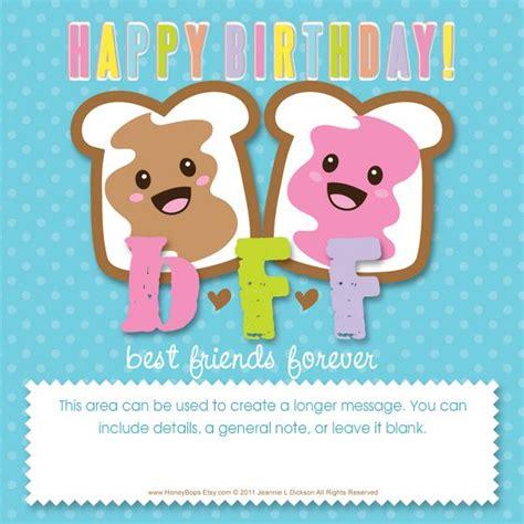Bff Birthday Cards