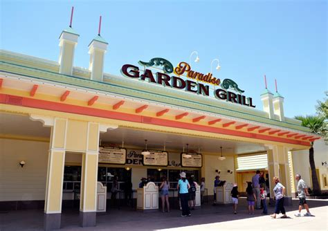 Paradise Garden Grill by Paradise Garden Grill At Disney California Adventure