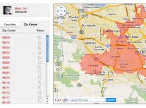 california postal code map govbuddy california legislature information california