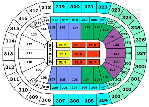 niagara center seating chart concerts niagara center seating chart view