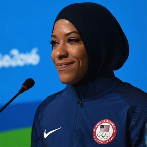 ibtihaj muhammad   olympic athlete  wear hijab
