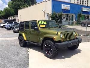 Jeep In Greensboro Nc 2007 Jeep Wrangler Unlimited 4x4 4dr Suv In